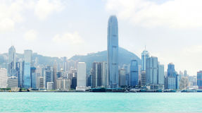 Hong Kong panorama Royalty Free Stock Photo
