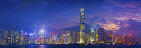 Hong Kong Panorama. Stock Image