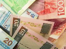 Hong Kong Paper Currency stock photography