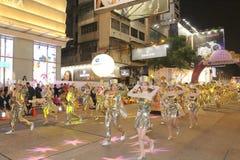 Hong Kong: Parata cinese internazionale 2015 di notte del nuovo anno Fotografie Stock