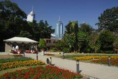 hong kong park obrazy stock