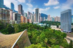 Hong Kong Park Stock Photo
