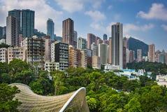 Hong Kong Park Fotografía de archivo libre de regalías