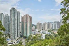 Hong Kong park arkivbild