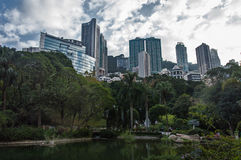 Hong Kong Park stock photos