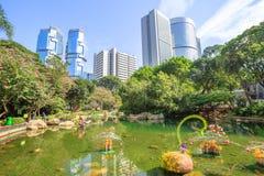 Hong Kong parka krajobraz Obraz Royalty Free