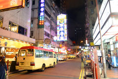 Hong Kong Parkes Street Royalty Free Stock Photography