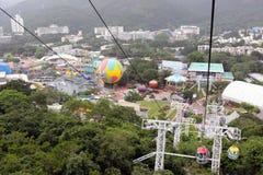 Hong Kong: Parque do oceano Imagem de Stock