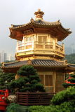 Hong Kong. Pavilion in Nan Lian Garden, Hong Kong Stock Image