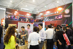 Hong kong pavilion Royalty Free Stock Image