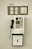 Hong Kong payphone Royaltyfri Bild