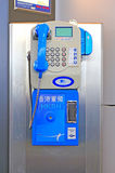 Hong kong payphone Stock Photography