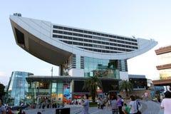 Hong Kong : The Peak Tower Royalty Free Stock Photos