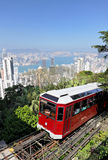 Hong Kong peak tram Royalty Free Stock Photography