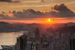 Hong Kong Peak Tram Stock Images