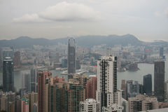 Hong Kong Peak View Royalty Free Stock Images