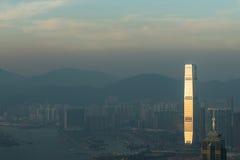 Hong Kong pejzaże miejscy zdjęcia royalty free