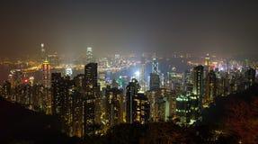 Hong Kong pejzaże miejscy zdjęcia stock