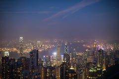 Hong Kong pejzaże miejscy obrazy royalty free