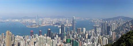 Hong Kong pendant la journée image libre de droits