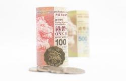 Hong Kong pengar Royaltyfri Foto