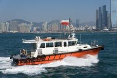 Hong Kong Pilot Boat Royalty Free Stock Photography
