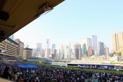 Hong Kong : Piste heureuse de vallée Images libres de droits