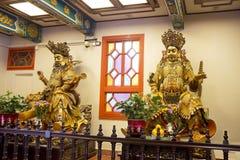 Hong Kong. In the Po Lin monastery Royalty Free Stock Photos