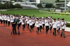 The Hong Kong Police Silver Band Stock Photos