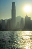 Hong Kong pollution Stock Photography