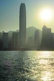 Hong Kong pollution Stock Photography