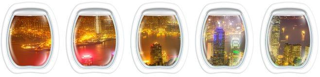 Hong Kong portholes Royalty Free Stock Photography