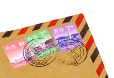 Hong Kong Postage Royalty Free Stock Photo