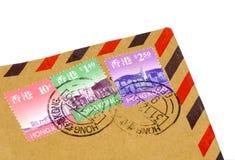 Hong Kong Postage royalty free stock photo
