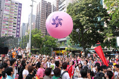 Hong Kong Pride Parade 2009 Stock Images