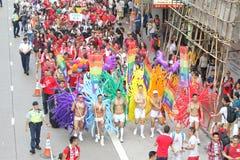 Hong Kong Pride Parade 2013 Royalty Free Stock Photo
