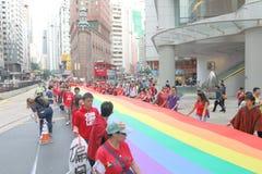 Hong Kong Pride Parade 2013 Stock Photo