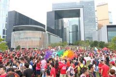 Hong Kong Pride Parade 2013 Stock Photography