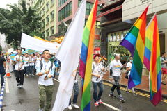 Hong Kong Pride Parade 2014 Stock Images