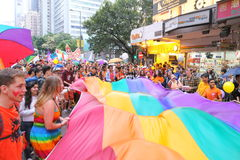 Hong Kong Pride Parade 2014 Stock Photo