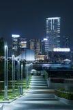 Hong Kong promenad tamar Royaltyfri Foto