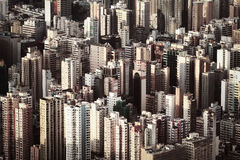 Hong kong property prices highest in the world Royalty Free Stock Photos