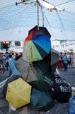 Hong kong protestujących dal 2014 Zdjęcie Stock