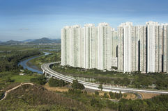 Hong Kong Public Estate Stock Image