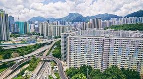 Hong kong public estate Royalty Free Stock Photography
