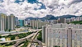 Hong kong public estate Stock Photos