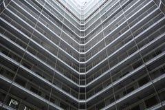 Hong Kong public house. Hong Kong public housing apartment block Royalty Free Stock Image