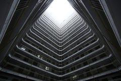 Hong Kong public house. Hong Kong public housing apartment block Stock Images