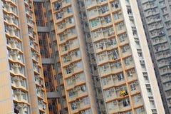 Hong Kong public house. Hong Kong crowded packing public house Stock Photo
