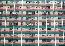 Hong Kong public housing Stock Photo